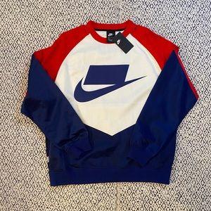 Nike NSW satin crewneck